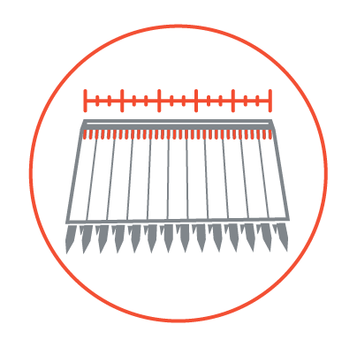 AWS Airbar - Brush Kits - Runs Full Length of Head